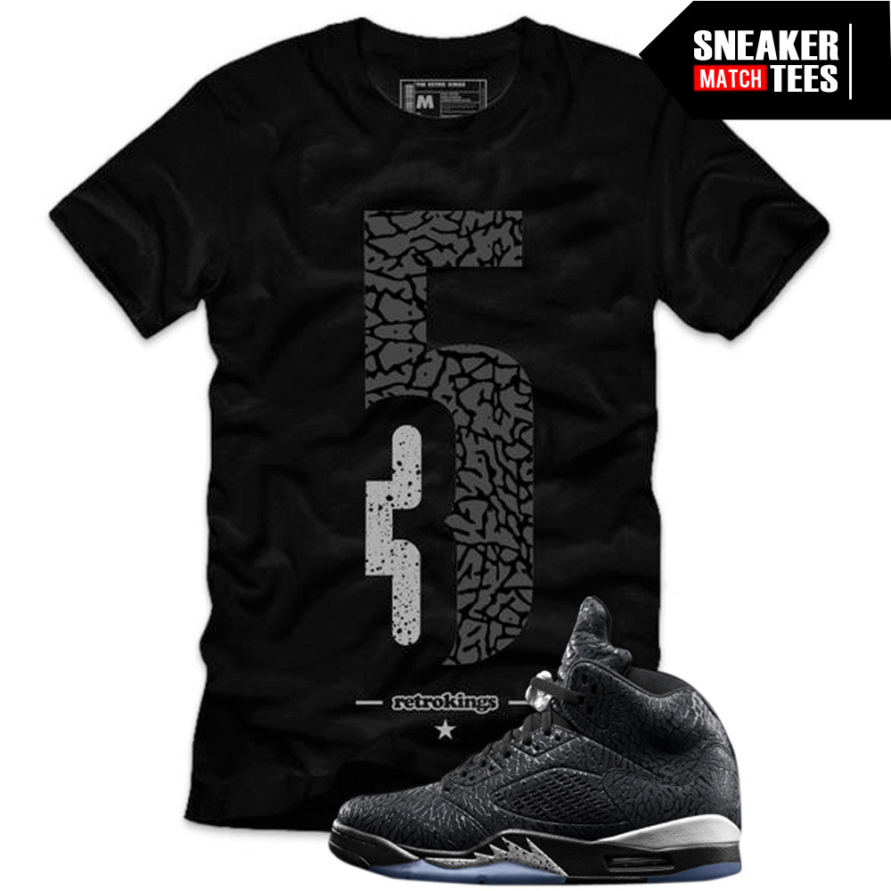 Retro-Kings-3Lab5-Black-Sneaker-tee