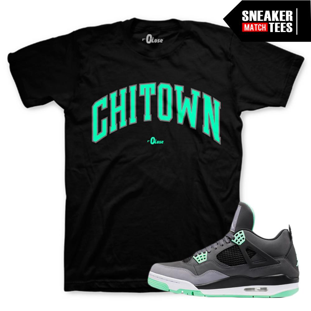 Green-Glow-Sneaker-Tees-Chi-town