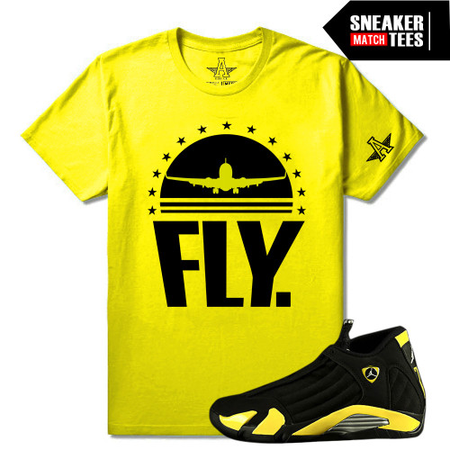 Thunder 14s matching Sneaker Tees | Fly