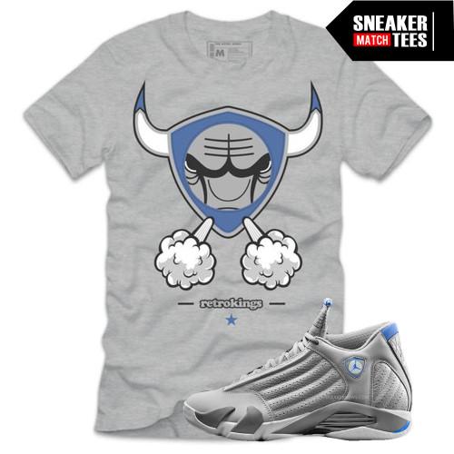 Smokin 14 Tee (Sport Blue 14s)