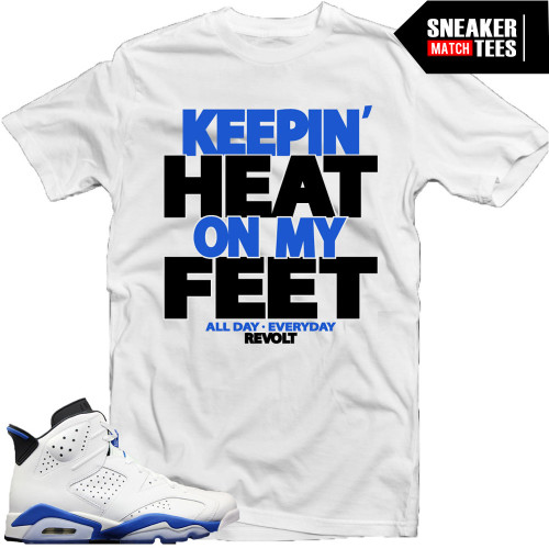 Heat on My Feet Tee (S...