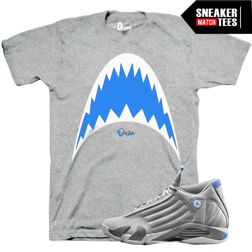 Sport-blue-14s-Shark-Tee
