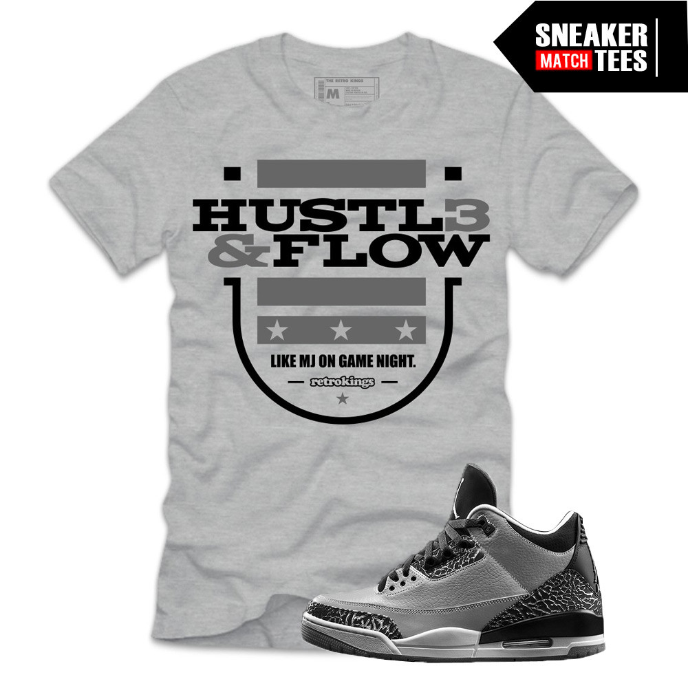 Wolf-Grey-3s-Sneaker-Tees-Retro-Kings-Hustle-and-Flow