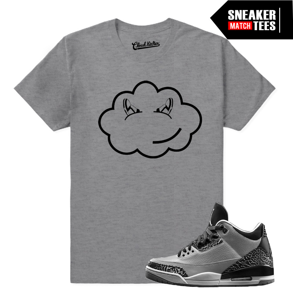 Wolf-grey-3s-Sneaker-Tees-Heather-Tee
