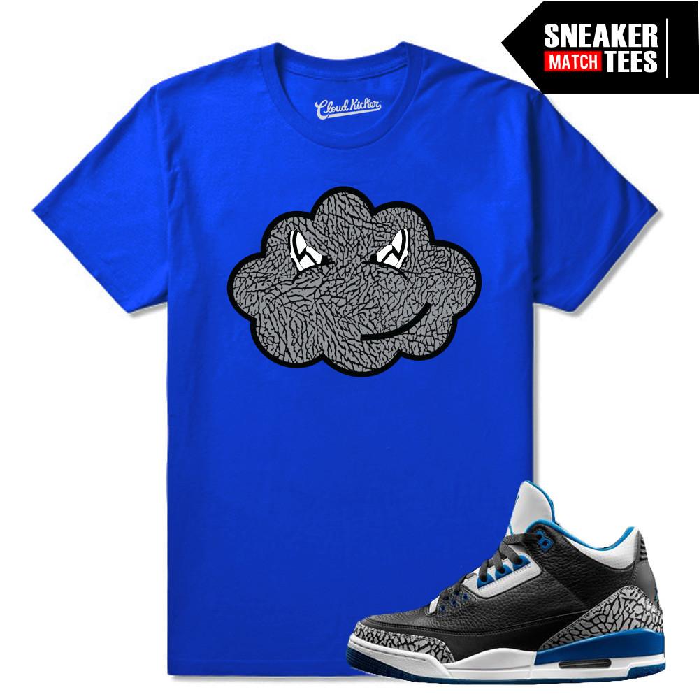 Sport-blue-3s-matching-t-shirt
