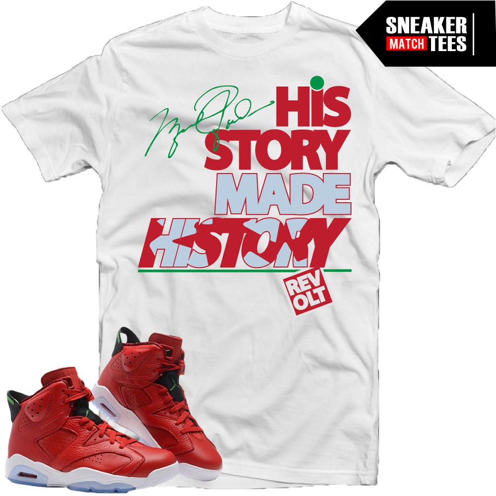 T-shirts-to-match-History-of-Jordan-6s