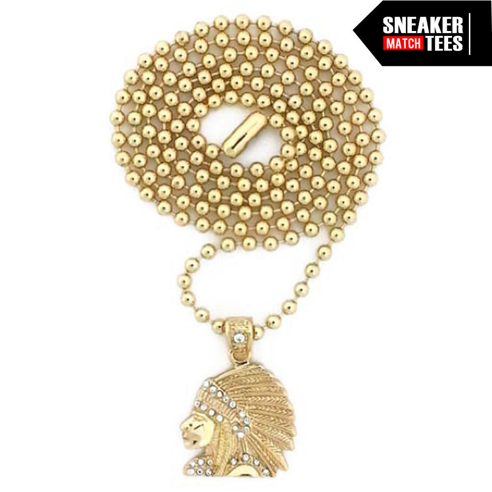 Gold-Mini-micro-necklace-hip-hop