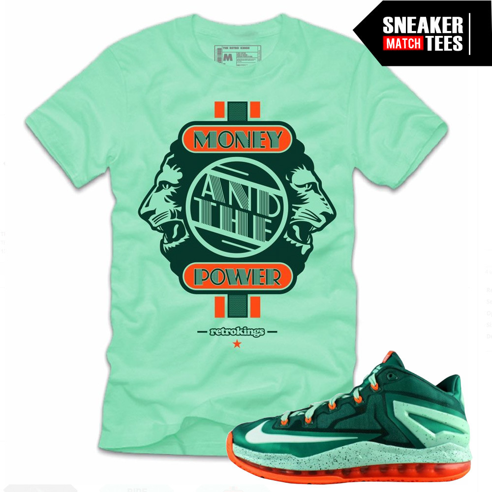 Lebron-11-low-Biscayne-matching-sneaker-tee