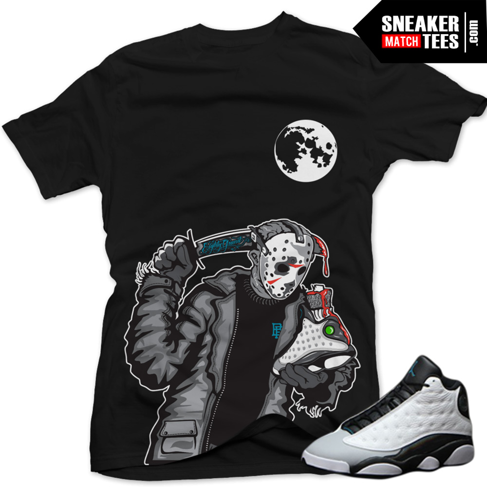 4c077a33a02 Baron 13s Sneaker Tee|Friday the 13th Sneaker Tee Black