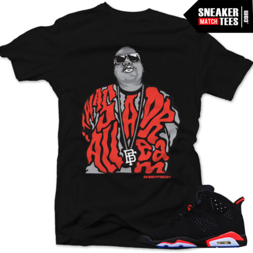 Infrared-6s-matching-clothing-sneaker-tees-shirts-streetwear-crewneck-and-hoodies-to-match-the-Jordan-6-Infrared-Black