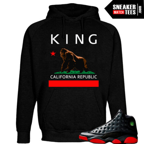 Dirty Bred 13s matching shirt and Hoodie from the Dirty Bred 13 sneaker tee collection