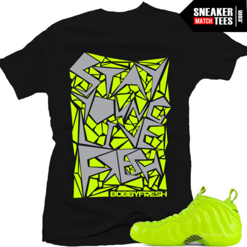 Shirts that match Foamposite Volt