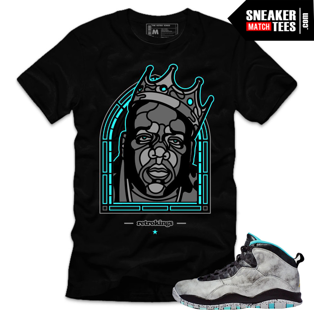 Lady liberty 10s matching sneaker tees shirts biggie for Matching denim shirt and jeans