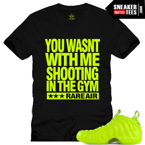 Volt foamposite matching shirts