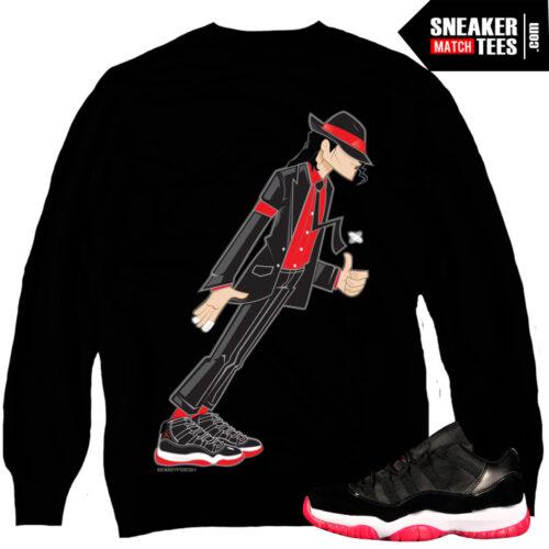 Jordan 11 Bred matching crewneck sweater sneaker tees karmaloop online shopping streetwear