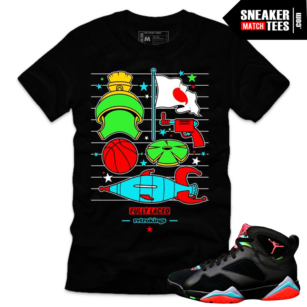 Marvin the Martian 7s matching sneaker tees shirts ... Yeezy Foams Shirt