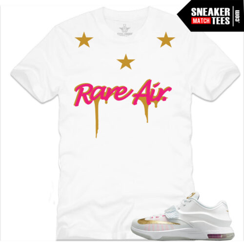 KD 7 Aunt of Pearl sneaker tees shirts streetwear online shopping karmaloop