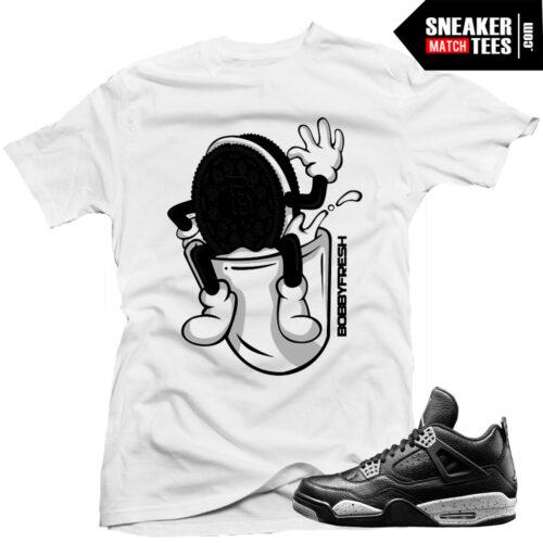 Oreo-4s-jordan-retros-matching-sneaker-tees-shirts-online-shopping-streetwear-karmaloop
