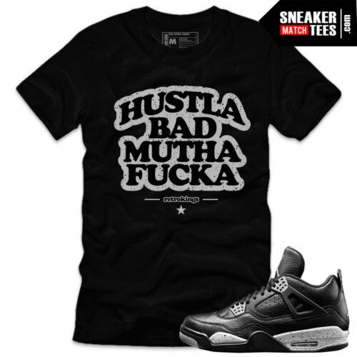 Sneaker-tee-shirts-oufits-match-Jordan-4-Oreo-Retros-streetwear-online-shopping-karmaloop