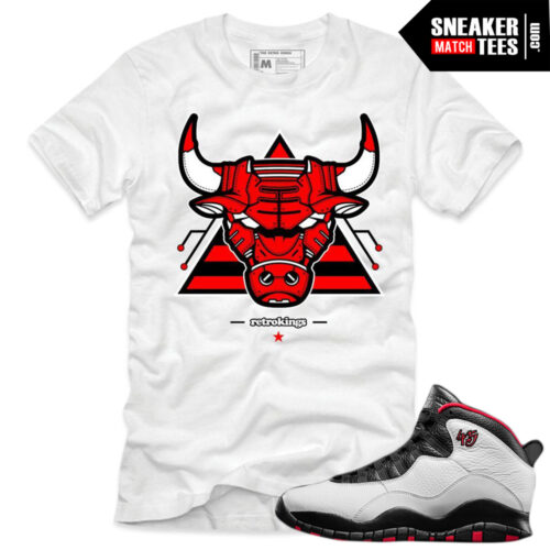 Air Jordan 10 Double Nickel matching shirts sneaker tees shirt match Double Nickel 10 Jordan Retros