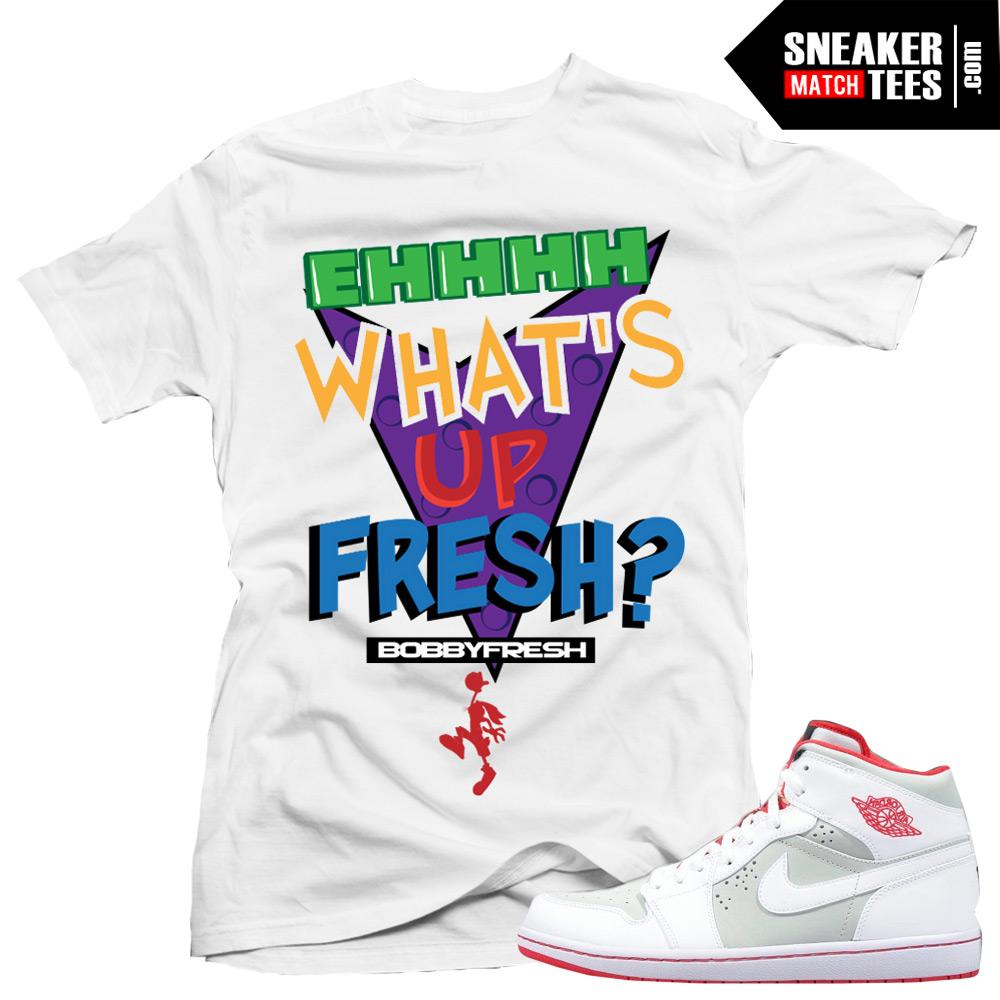 Jordan 1 Hare Match Shirts Whats Up Fresh Sneaker Tees