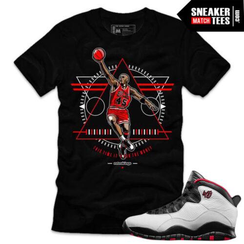 Jordan 10 Double Nickel matching shirt sneaker tees shirts match Double Nickel 10 Jordan Retros