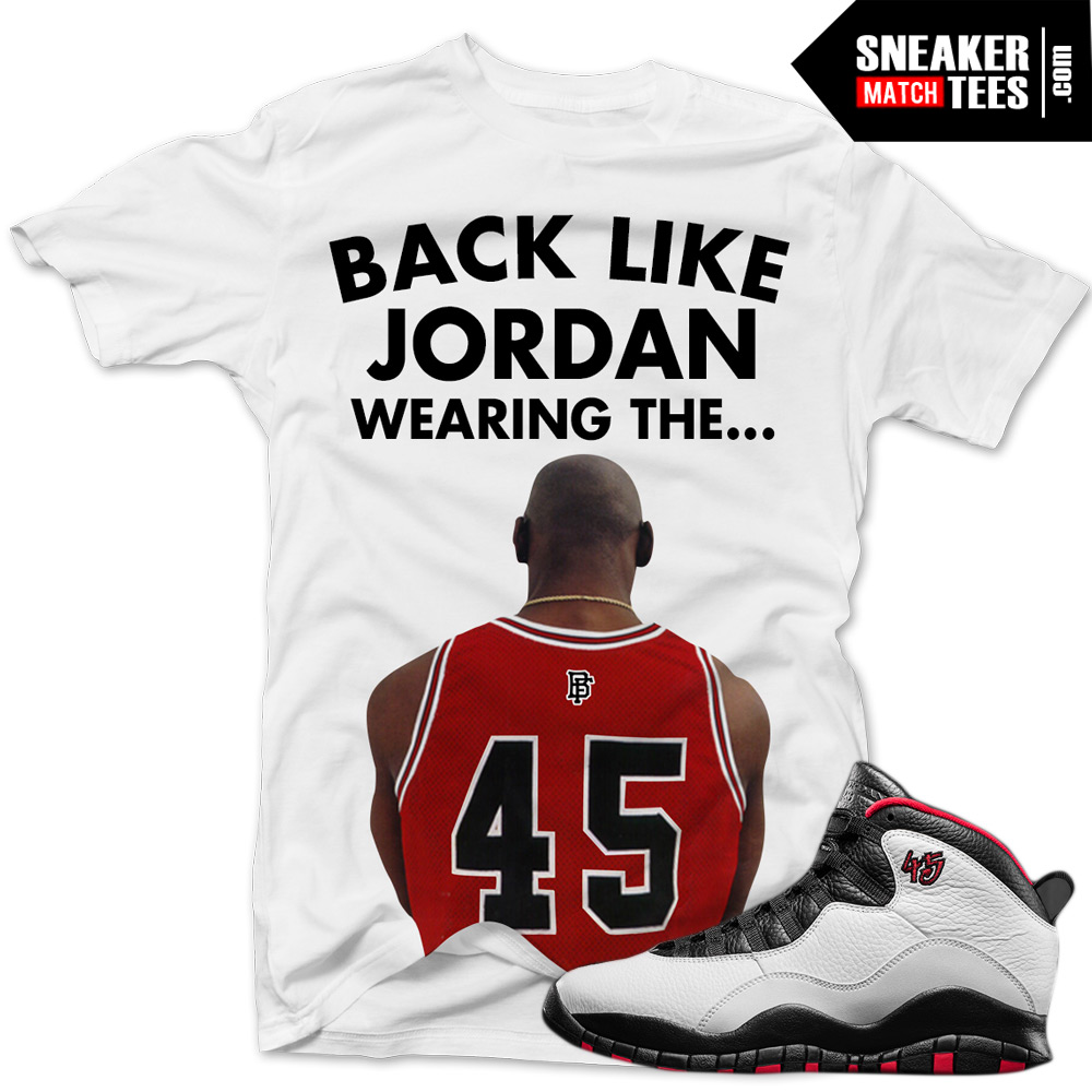 air jordan 10 ovo shirt template