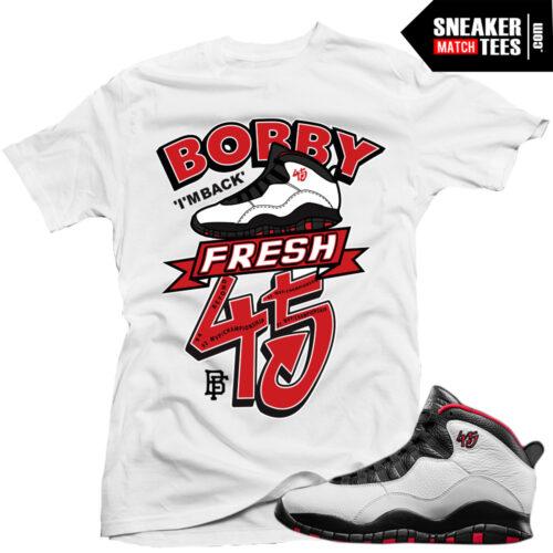 Jordan 10 Double Nickel shirts sneaker tees shirts