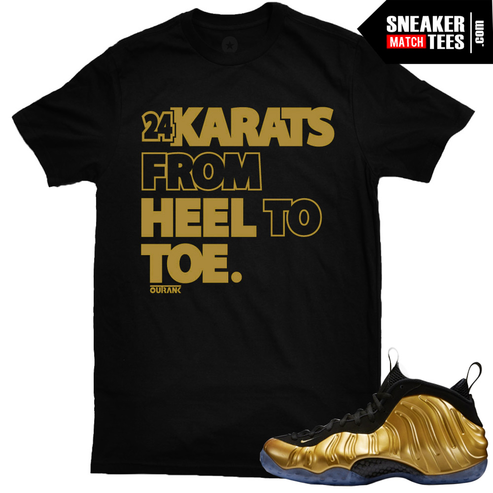 nike gold shirt