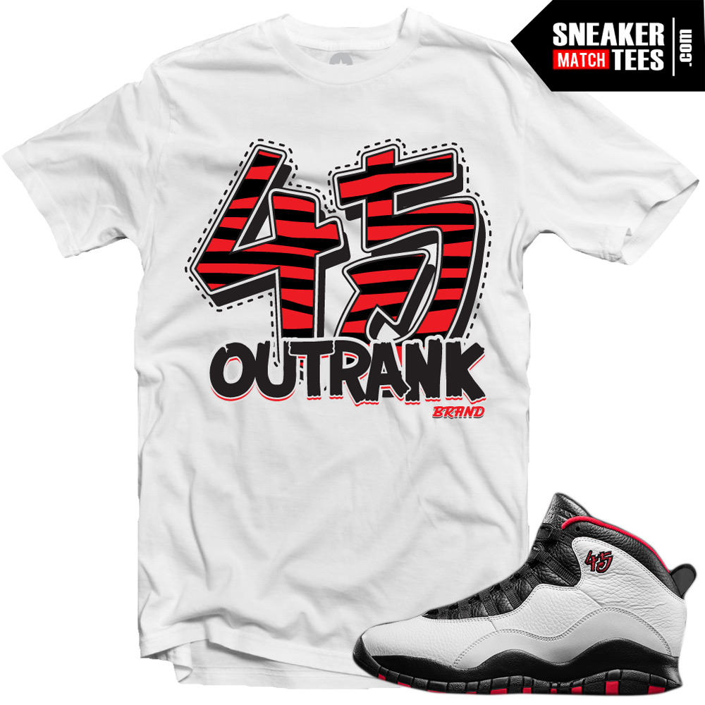 Double Nickel 10s Matching Shirts 45 Dn Print Sneaker