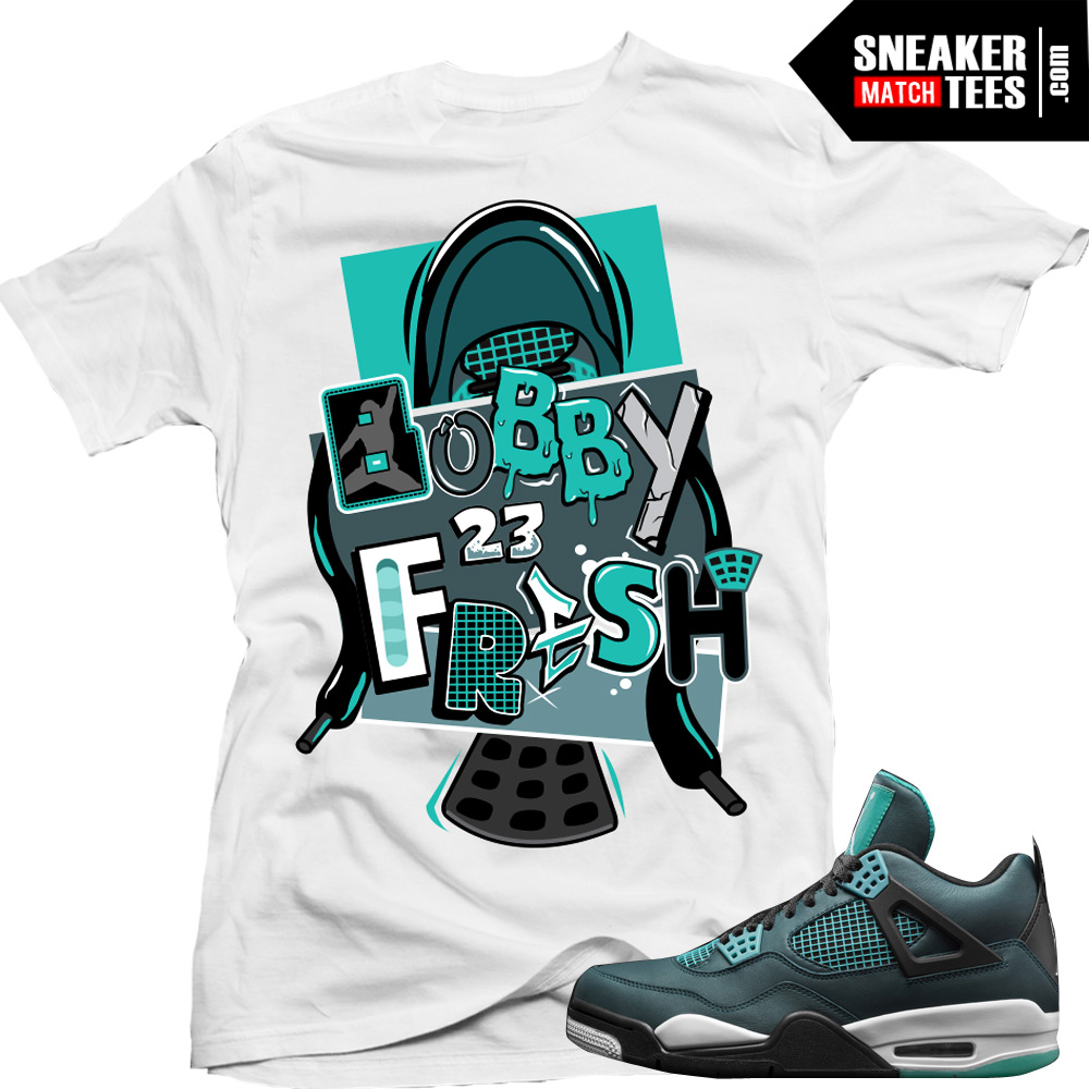 635d3cacd5f1 Teal 4s matching shirts sneaker tees