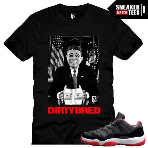 Bred 11 low shirt