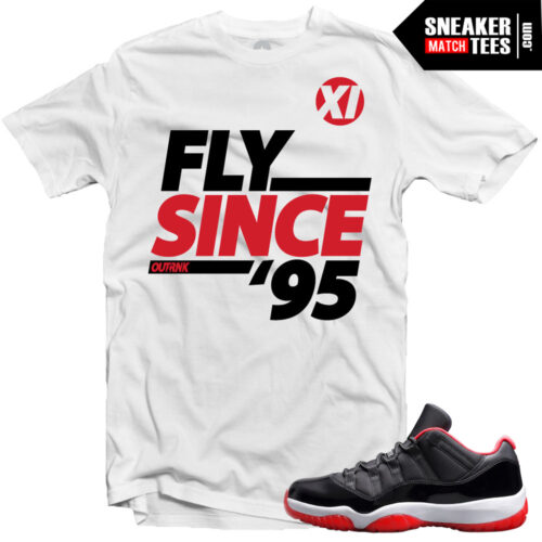 Bred 11 low shirts to match Jordan 11 bred karmaloop streetwear