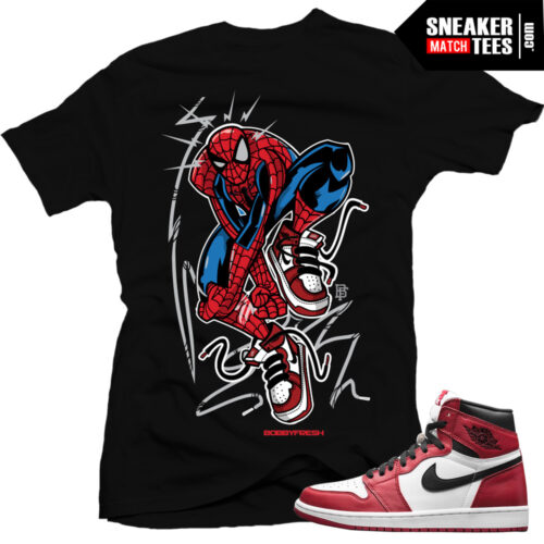Chicago 1s Jordan shirt to match Jordan 1 Chicago