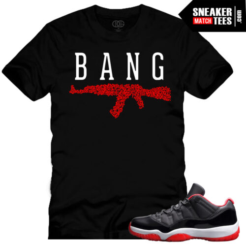 jordan 11 low breds shirts to match bred 11 low