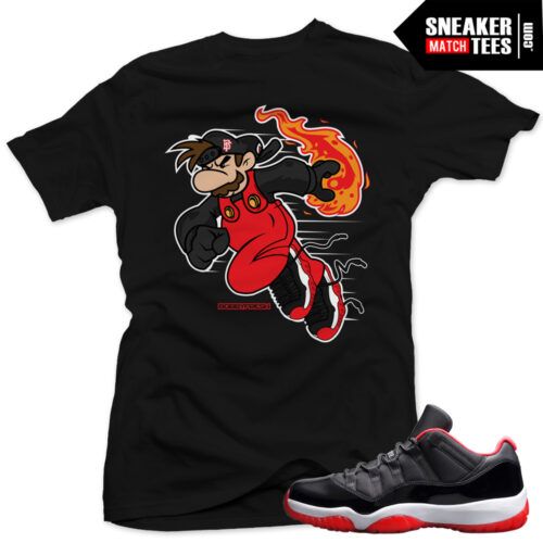 Jordan 11 bred shirt