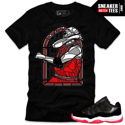 Jordan 11 bred shirts to match