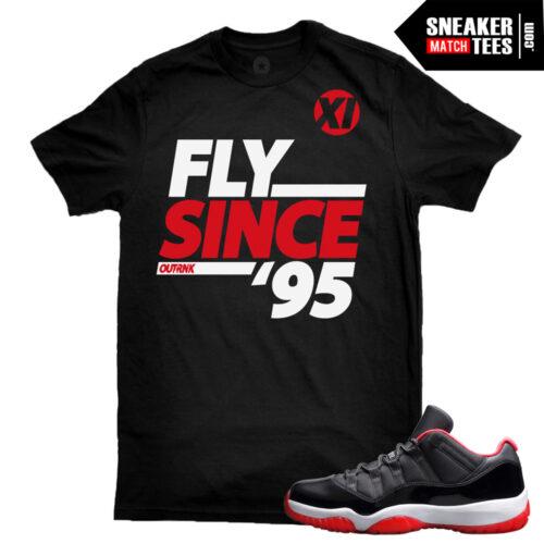 Jordan 11 low breds matching shirt Karmaloop streetwear online