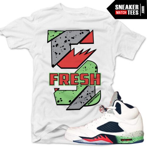 Jordan 5 Poison Green Shirt