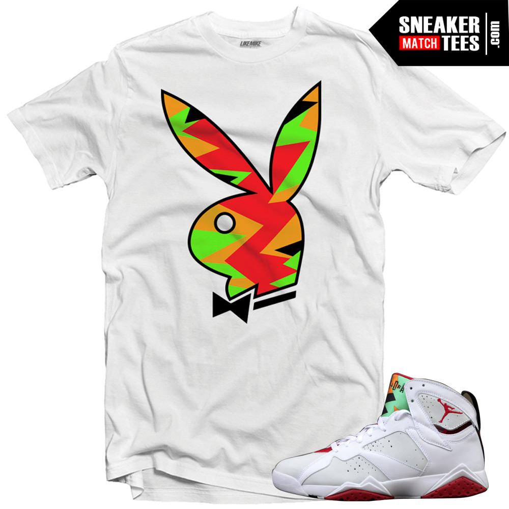 feed50b3774 Jordan 7 Hare shirts to match