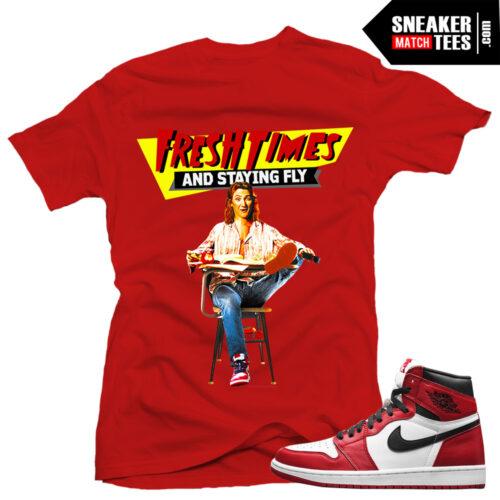 Sneaker tees chicago 1 Jordan Retros steetwear online karmaloop