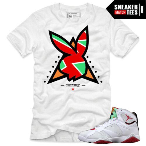 shirts to match Hare 7 Jordans