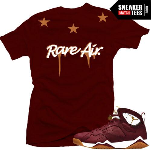 Cigar 7 Jordan shirt