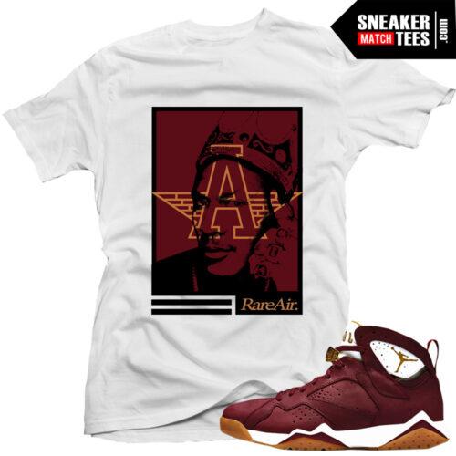 Jordan 7 Cigar Shirt to match
