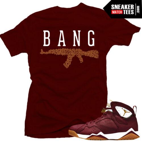 Jordan 7 Cigar Shirt