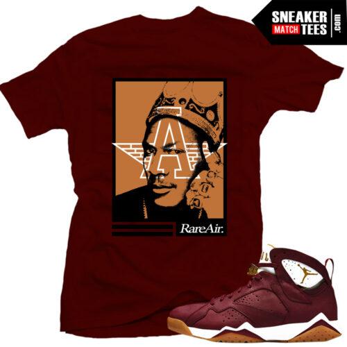 Cigar 7 shirt matching Cigar 7s sneakers
