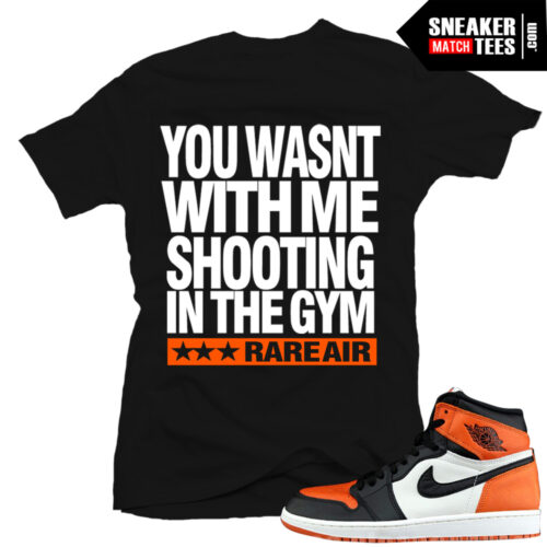 Shattered backboard 1s match shirts