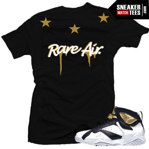 shirt to match Jordan 7 champagne