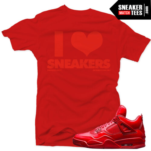 11lab4 red matching t-shirts online