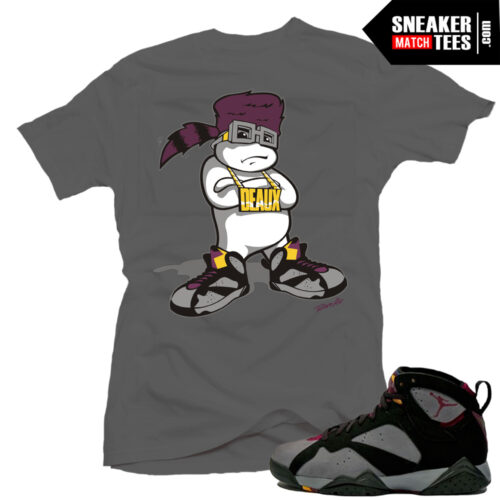 Bordeaux 7s matching t shirt sneaker news kicks on fire 1Bordeaux 7s matching t shirtBordeaux 7s matching t shirt sneaker news kicks on fire 3
